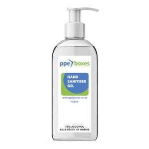 alcohol hand sanitizer gel 1L