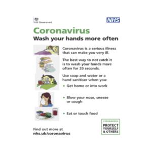 Coronavirus (Covid-19) Information Poster