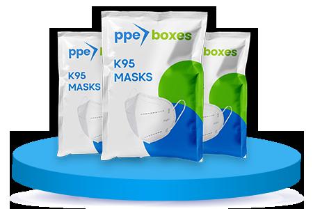 KN95 Disposable Fold Flat Face Masks