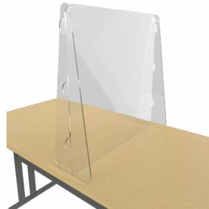 Free Standing perspex screens