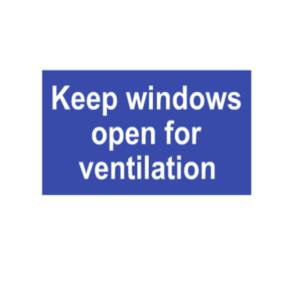 Ventilation signs