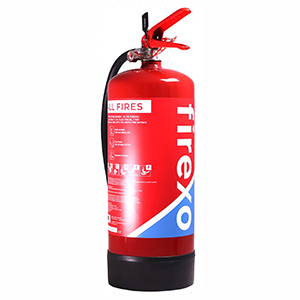Firexo 6L Fire Extinguisher, For all types of fire