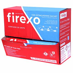 Firexo Pan Fire Sachet, Extinguisher For Pan Fire
